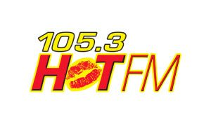 Moe Rock Voice Over 105.3 Hot Fm Logo